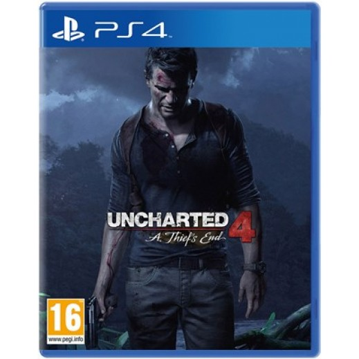 لعبة Uncharted 4: A Thiefs End لأجهزة PS4 – نظام PAL