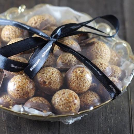 سمسمية - 55 حبة - يتم التوصيل بواسطة SugarestQ8 Chocolate