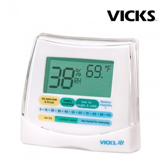 فيكس _2 في 1 رطوبة ومقياس حرارة