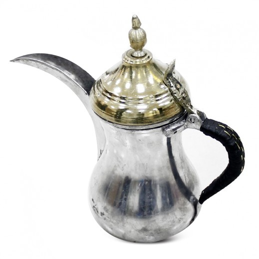 بغدادي - دلة القهوة العربية ألومنيوم 0.6 لتر