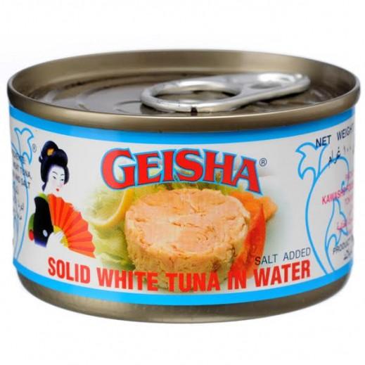 جيشا - لحم تونة أبيض في الماء 200 جم