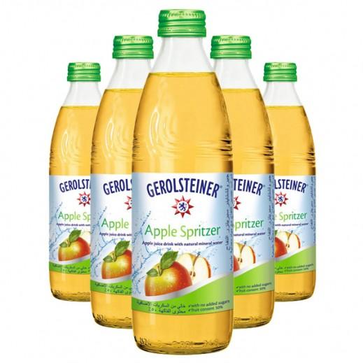 جيرولستينر - مياه معدنية طبيعية فوارة بالتفاح 24 × 330 مل