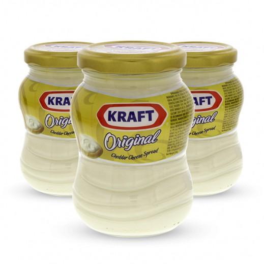 كرافت - جبنة شيدر مطبوخة قابلة للدهن عرض خاص 230 جم (3 حبة) 25% خصم
