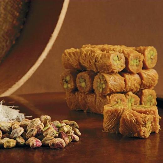 برما الفستق صغير 1كجم - يتم التوصيل بواسطة Zalatimo Sweets