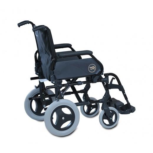 سانرايس – كرسي بريزي اليدوي المتحرك موديل 312 W/37B سيلينيوم رمادي # 312Sg49 - يتم التوصيل بواسطة التوصيل بعد يومين عمل  بواسطة العيسى