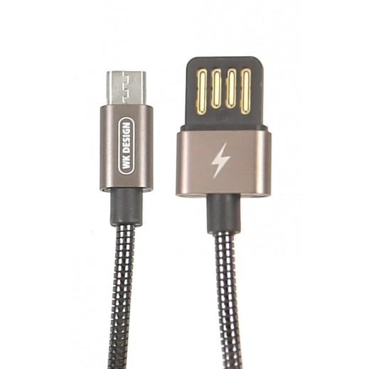 دبليو كي ديزاين – كيبل Micro USB بطول 1 متر – برونزي