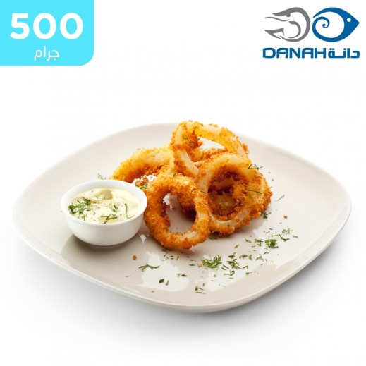 دانة - سمك حبار مجمد مشكل 500 جم