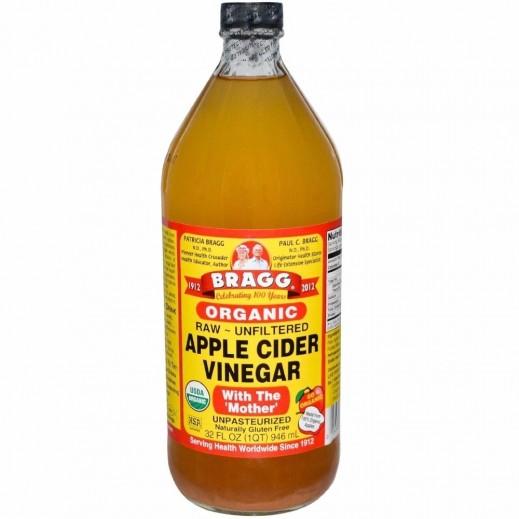 براج - خل التفاح العضوي 946 مل