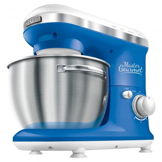 سينكور – ماكينة مطبخ 4 لتر 600 واط – أزرق - يتم التوصيل بواسطة United Techno Electric Company خلال ثلاثة أيام عمل