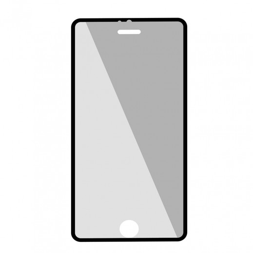 فيلم زجاج مقوى PROMATE لحماية الشاشة نحيف جدا مع قطعة للتطبيق لايفون 6 بلاس / 6S بلاس - لون ابيض