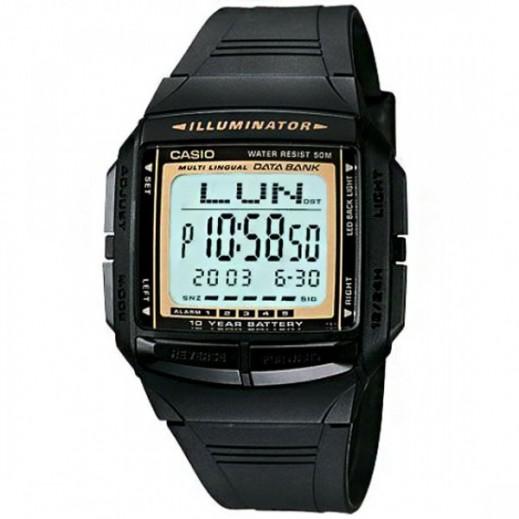 كاسيو- ساعة يد جينيرال رجال رقمية - أسود  - يتم التوصيل بواسطة Veerup General Trading
