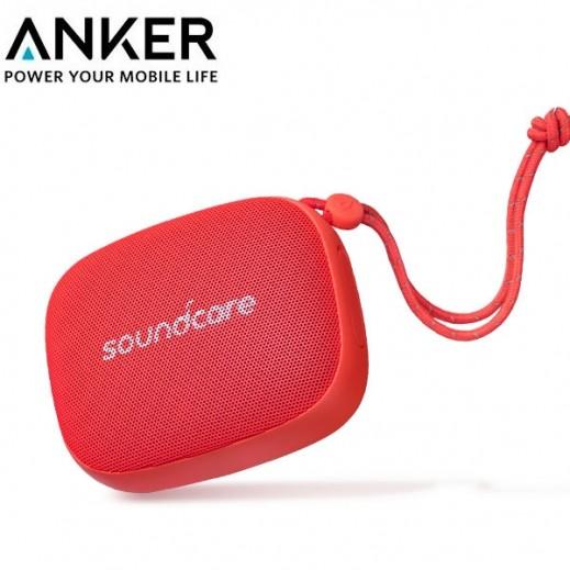 """أنكر – سماعة """"SoundCore"""" ميني اللاسلكية 3 واط – احمر"""