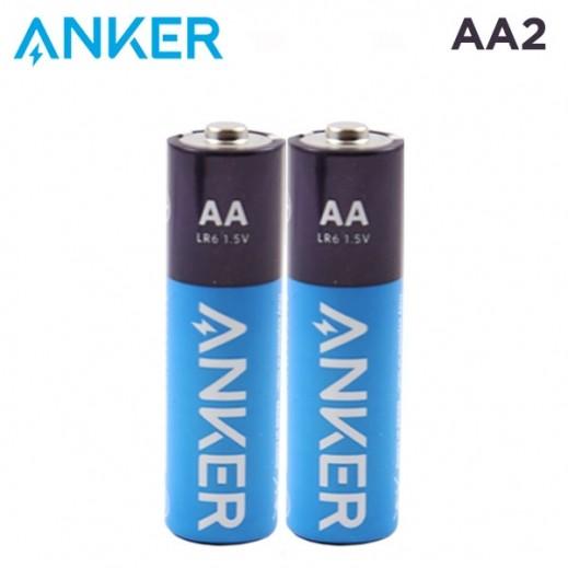 أنكر – بطارية ألكالين AA عبوة 2 حبة