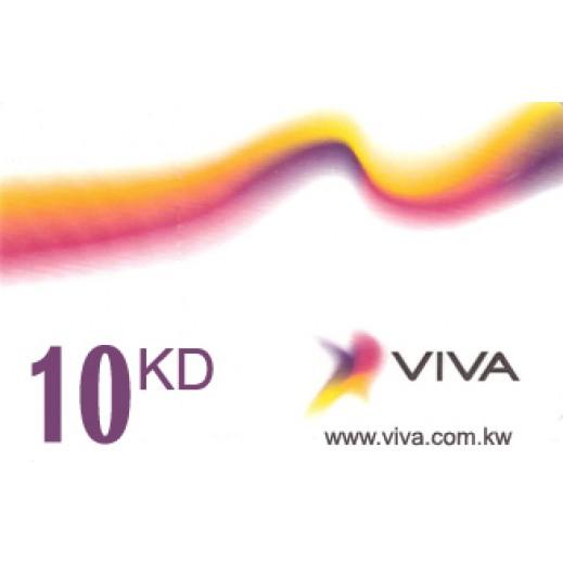 فيفا - كارت إعادة الشحن 10 دينار