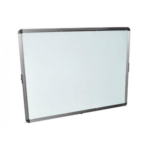 سبورة بيضاء مغناطيسية بجانبين 90×120 سم