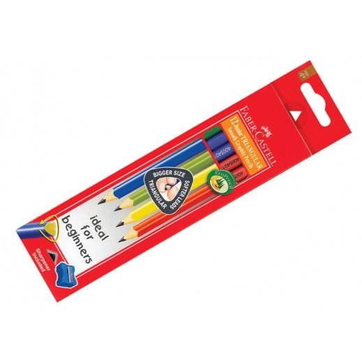 فابر كاستل – قلم رصاص للأطفال (6 علبة × 12 حبة) – عرض التوفير