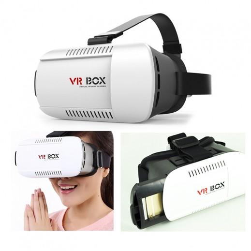 نظارات الرأس للعالم الافتراضي VR BOX 3D VR مع جهاز التحكم عن بعد