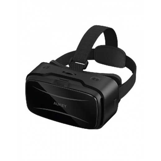 "Aukey VR Headset, Virtual Reality 3D Glasses for iPhone, Samsung, LG and other 4 - 5.5"" Smartphones"