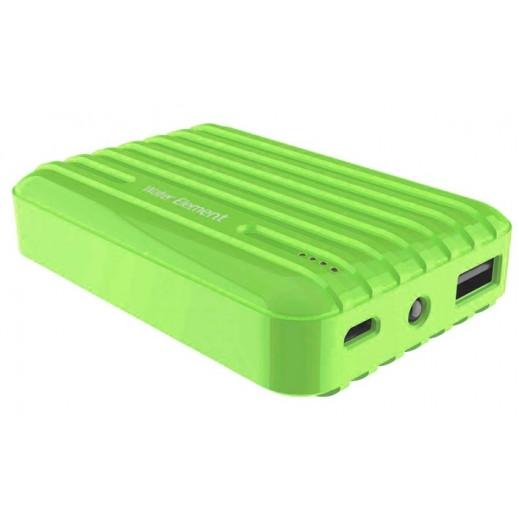 بطارية احتياطية WATER ELEMENT قوة 10400mAh لون اخضر