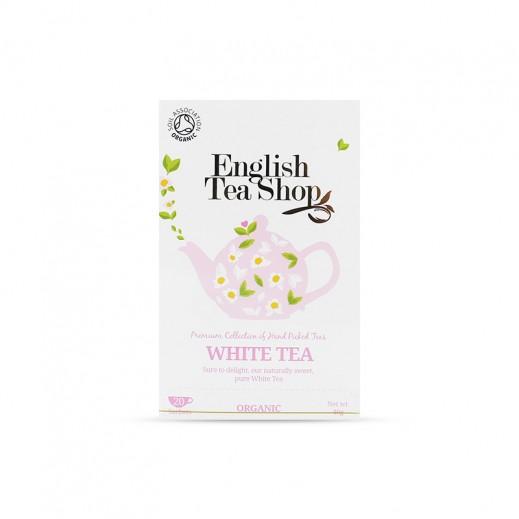 إنجلش تي شوب – شاي أبيض 20 كيس × 40 جم
