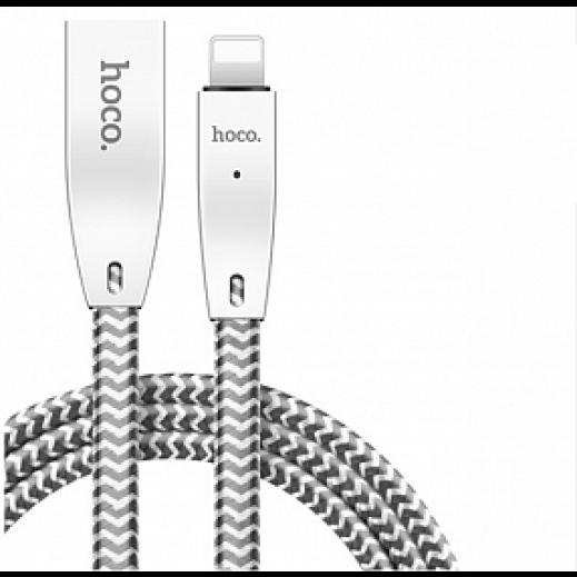 هوكو - كيبل lightning لأجهزه ابل 1.2 متر – ابيض