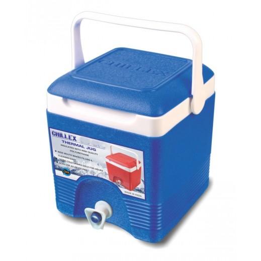 تشيلكس – مبرد مشروبات حراري مربع 20 لتر - أزرق