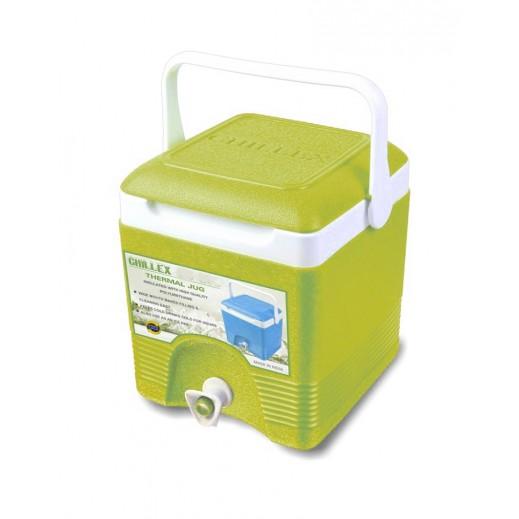 تشيلكس – مبرد مشروبات حراري مربع 20 لتر - أخضر
