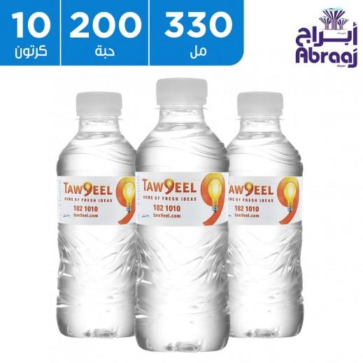 أبراج مياه شرب نقية 330 مل (10 × 20)