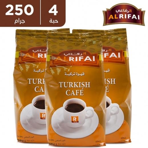 الرفاعي - قهوة تركية 4 × 250 جم