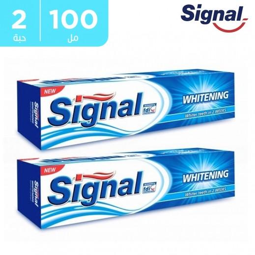 سيجنال – معجون أسنان إكسبيرت لتبييض الأسنان 2 × 100 مل