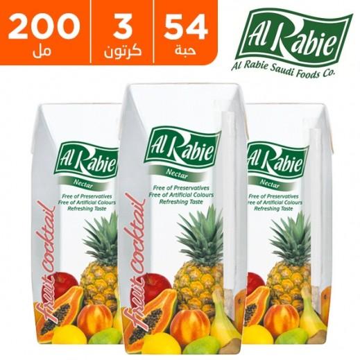 الربيع - عصير كوكتيل الفاكهة نكتار 200 مل (54 حبة) - أسعار الجملة