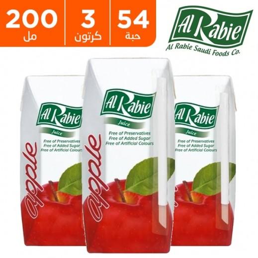 الربيع - عصير التفاح نكتار 200 مل (54 حبة) - أسعار الجملة