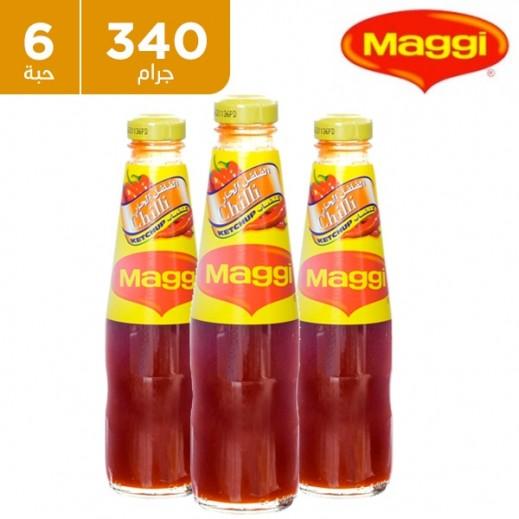 ماجي – كاتشب الفلفل الحار 6 × 340  جم