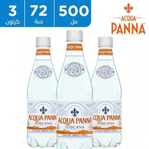 أكوا بانا - مياه شرب معدنية طبيعية 72 × 500 مل