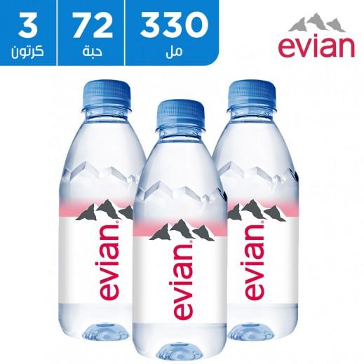 إفيان – مياه معدنية طبيعية 330 مل (3 × 24)