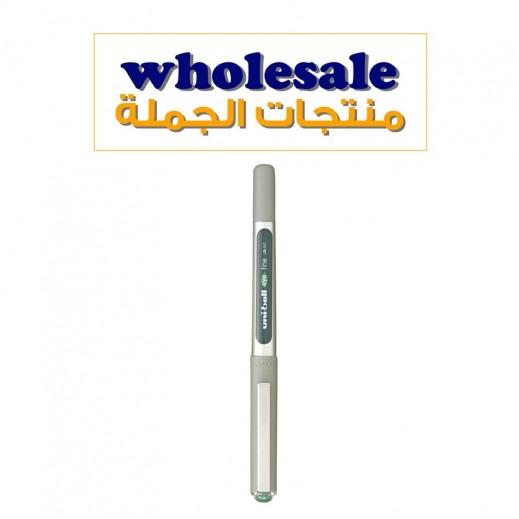 يوني بول آي – قلم حبر سائل – أخضر (24 حبة) – منتجات الجملة