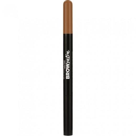 """مايبيلين – قلم رسم الحاجب """"براو ساتين"""" – بني قاتم 4"""