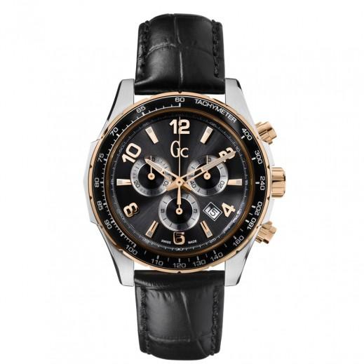 """جي سي - """"شيك"""" ساعة يد للرجال رياضية - يتم التوصيل بواسطة Beidoun"""