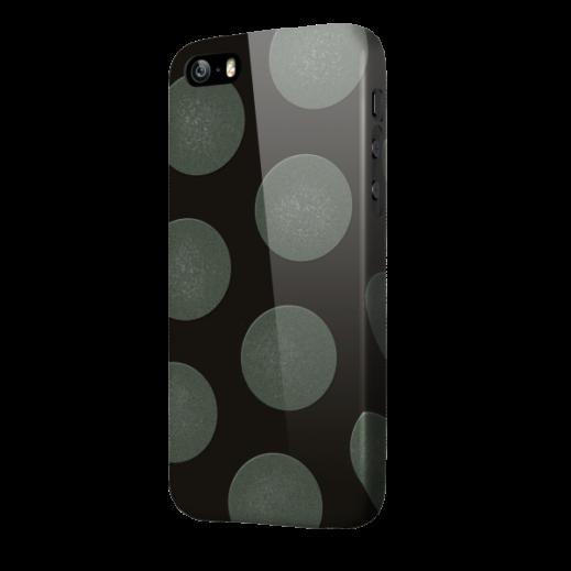 OXO غطاء DOT SPOT لآيفون 6  حجم 4.7 اسود