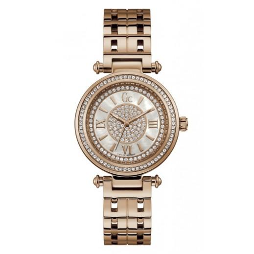 """جي سي - """"برايم شيك"""" ساعة يد للسيدات ذهبي/وردي - يتم التوصيل بواسطة Beidoun"""