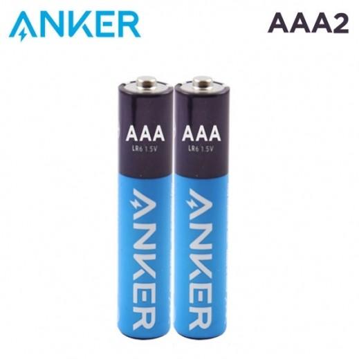 أنكر – بطارية ألكالين AAA عبوة 2 حبة