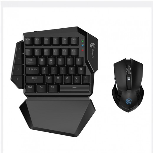 جيمسير - لوحة مفاتيح  ميكانيكية لاسلكية Z2  - اسود