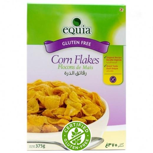إيكوا – رقائق الذرة خالي من الجلوتين – 375 جم