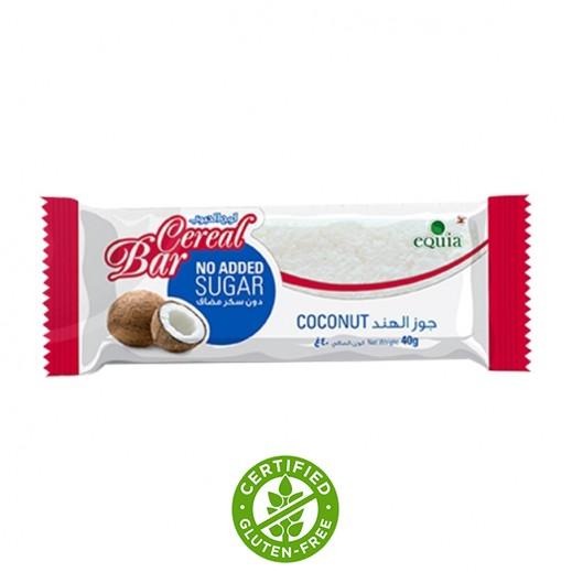 إيكوا – ألواح الحبوب مع جوز الهند خالي من السكر 40 جم