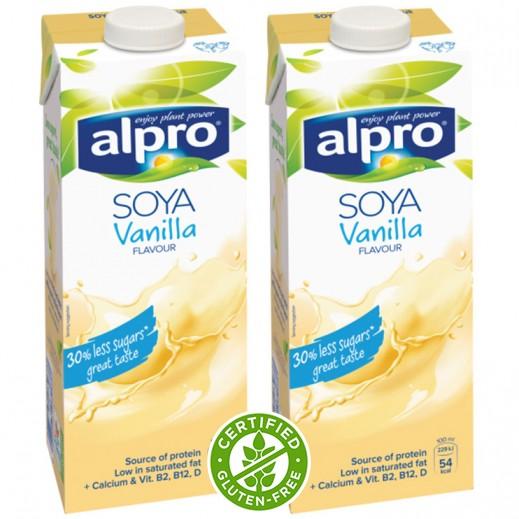 ألبرو – مشروب Alpro صويا فانيلا 2×1 لتر