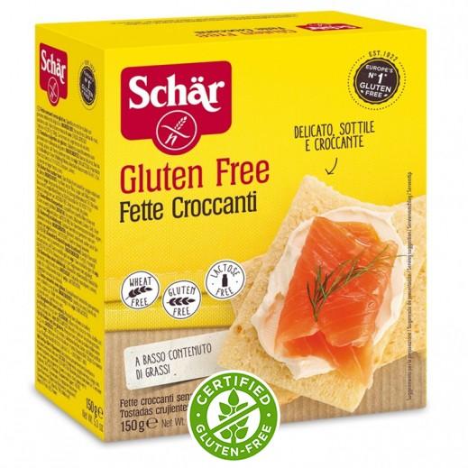 شار – شرائح خبز محمصة خالية من الجلوتين 150 جم