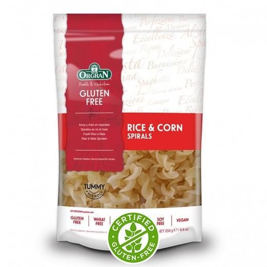 أورجران – معكرونة حلزونى بالأرز والذرة خالية من الجلوتين 250 جم