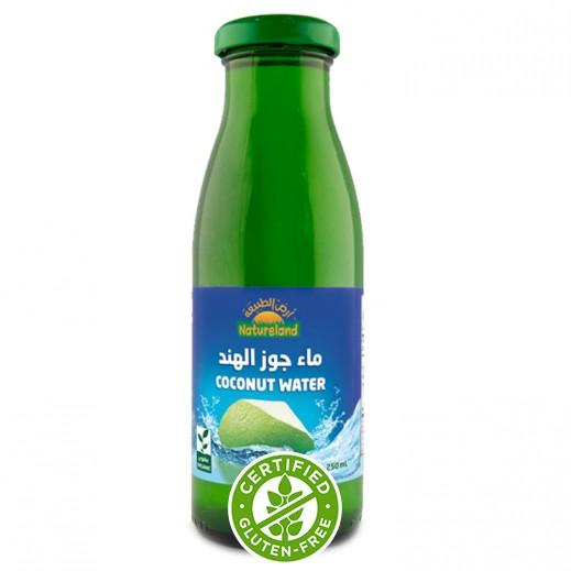 ناتشر لاند - ماء جوز هند طبيعي  250 مل