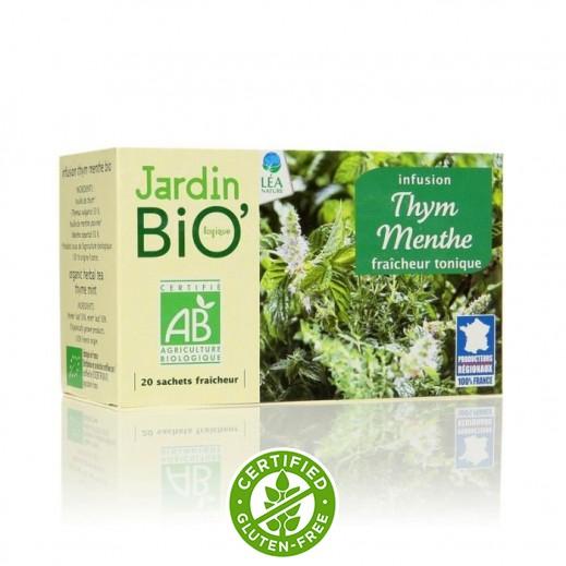 جاردن بايو – شاي بأعشاب الزعتر والنعنع 30 جم (20 كيس)