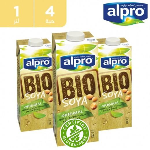 ألبرو – مشروب صويا بيو 1 لتر (4 حبة)